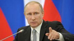 Poutine sermonne le Canada pour son implication dans la crise
