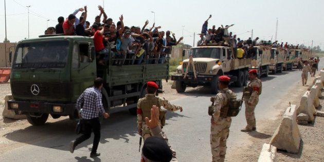 Irak: la contre-offensive des troupes irakiennes face aux rebelles djihadistes se met en