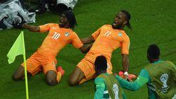 La Côte d'Ivoire bat le Japon