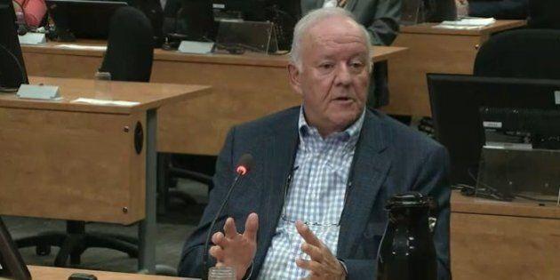 Commission Charbonneau: Marc-Yvan Côté admet la réalité du financement