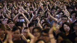 Manifestations à Hong Kong: lent retour à la