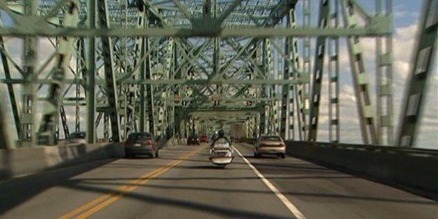 Réouverture du pont Champlain vers