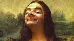 Mr Bean s'incruste dans des chefs-d'oeuvre de la peinture