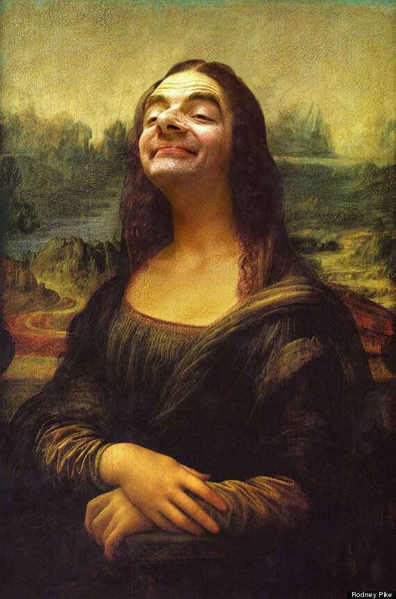 Mr Bean s'incruste dans des chefs-d'oeuvre de la peinture avec une série de montages