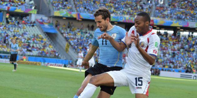 Mondial 2014: le Costa Rica bat l'Uruguay 3 à