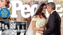 Les photos du mariage de George Clooney et Amal Alamuddin montrent leurs élégantes