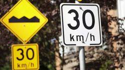 La limite de vitesse des quartiers résidentiels pourrait être réduite à 30 km/h
