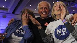 Les Écossais rejettent l'indépendance par référendum