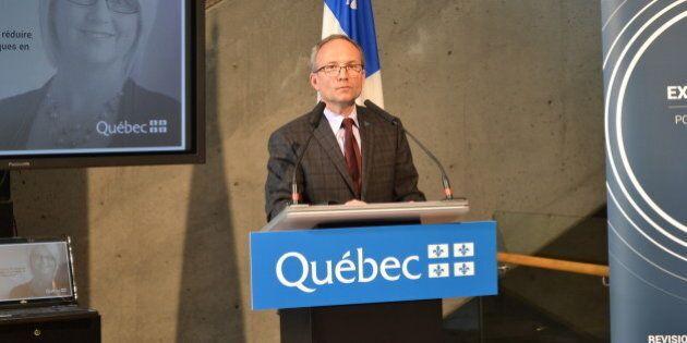 Commission de révision permanente des programmes: les Québécois ont des