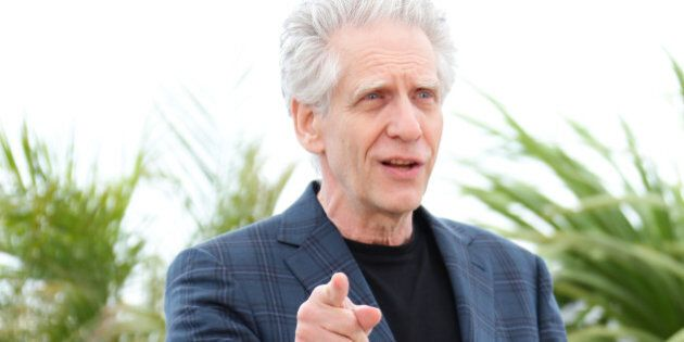 CANNES, FRANCE - MAY 19: Director David Cronenberg attends the 'Maps To The Stars' photocall during the...