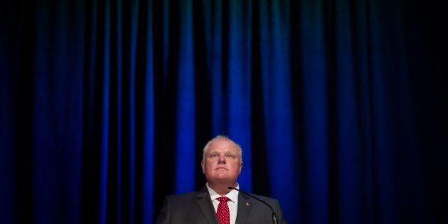 Le maire de Toronto Rob Ford atteint d'une tumeur à l'abdomen