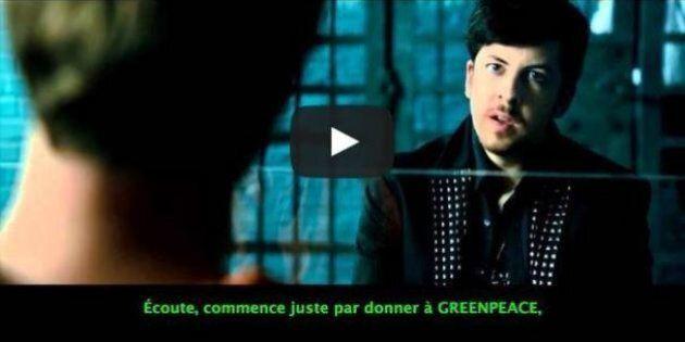 Téléchargement illégal : des sous-titres pour Greenpeace incrustés sur des films piratés