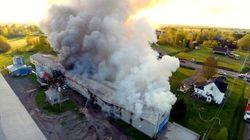 Incendies à Drummondville