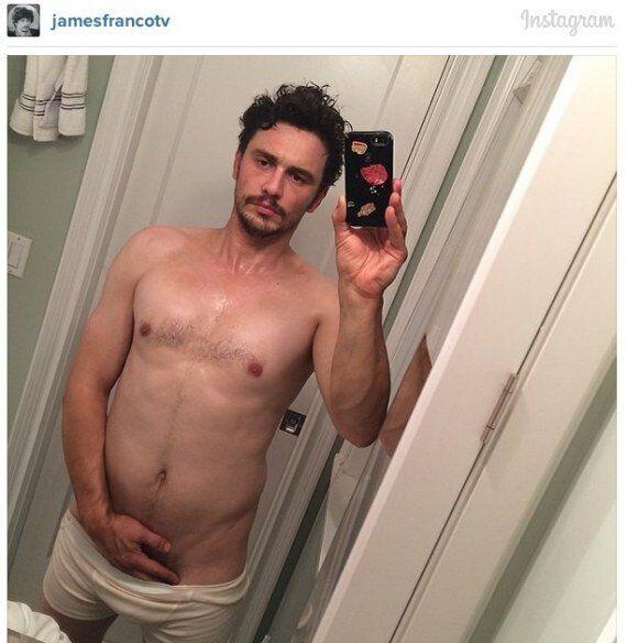 James Franco nu sur Instagram pour son dernier selfie au réveil