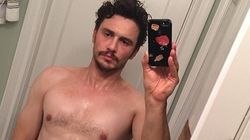 James Franco pose nu sur Instagram