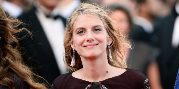 CANNES, FRANCE - MAY 18: Melanie Laurent attends 'The Homesman' premiere during the 67th Annual Cannes...