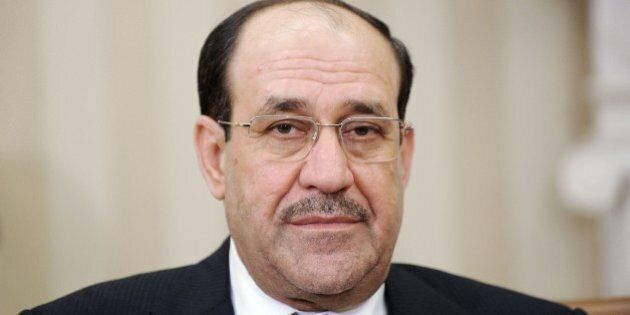 WASHINGTON, DC - NOVEMBER 01: Iraqi Prime Minister Nouri Al-Maliki looks on during a meeting with U.S....