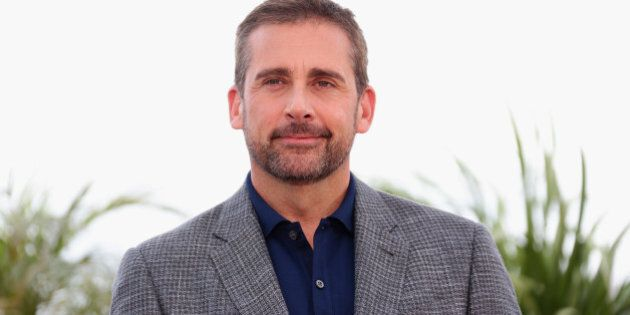 CANNES, FRANCE - MAY 19: Actor Steve Carell attends the 'Foxcatcher' photocall during the 67th Annual...