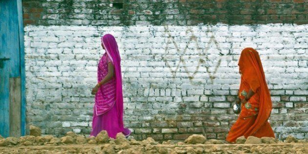 TO GO WITH India-health-women-crime-social,FOCUS BY ABHAYA SRIVASTAVAIn this photograph taken on August...