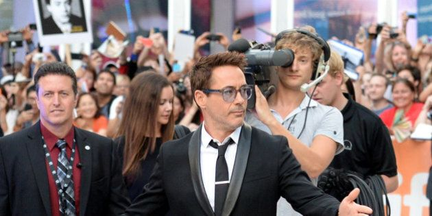 TORONTO, ON - SEPTEMBER 04: Actor Robert Downey Jr. attends 'The Judge' gala premiere during the 2014...