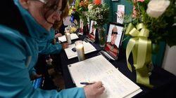 Moncton: des proches honorent les policiers fédéraux