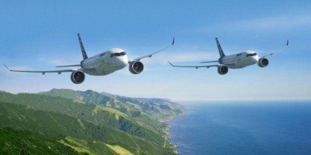 Les essais en vol de la CSeries de Bombardier reprendront d'ici la fin