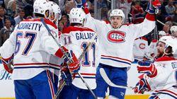 Les Canadiens de Montréal remportent une première victoire contre les