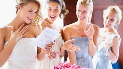 Situation délicate lors d'un mariage: demander aux invités de