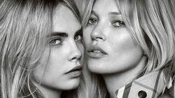 Kate Moss et Cara Delevingne posent ensemble pour la première
