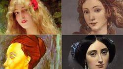 Neuf siècles de portraits de femmes en moins de 3