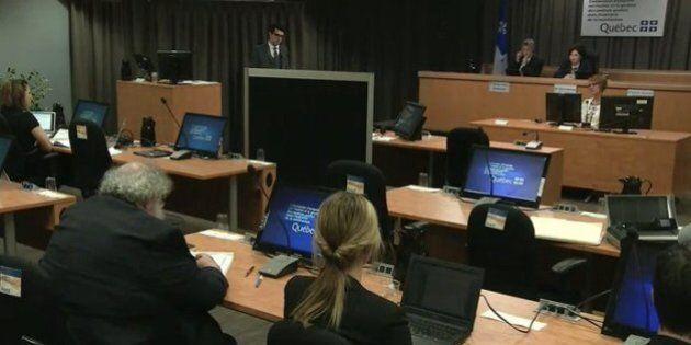 Commission Charbonneau: les firmes «taxées» par les partis pour «contracter avec le