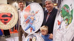 De nouvelles pièces de monnaie à l'effigie de Superman