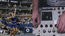 Il transforme les matchs de l'US Open en musique