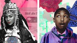 Beyoncé en femme berbère et Pharrell en Djellaba