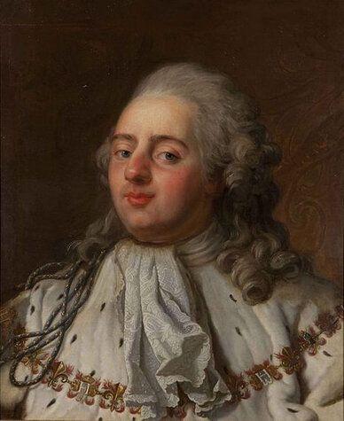 Ce n'était pas le sang de Louis XVI sur une