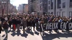 Autre manifestation contre l'austérité au centre-ville de
