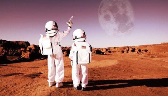À qui appartient Mars? Le statut de la planète rouge est censé être fixé