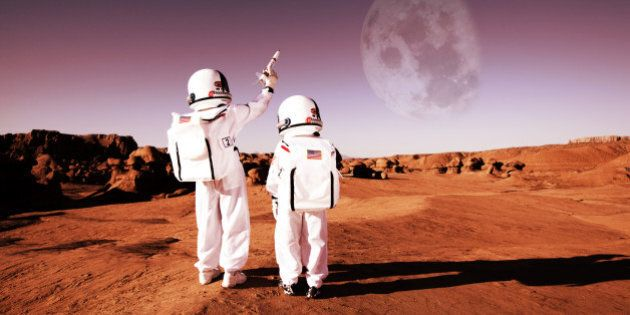 Don't settle for the surface of Mars. Use your imagination to conquer the universe.