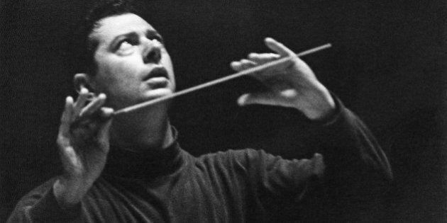 Spanish conductor and composer Rafael Frühbeck de Burgos, 8th November 1966. (Photo by Erich Auerbach/Getty