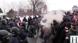 Manifestation à Québec : La démission du policier demandée sur les réseaux