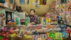 Des portraits surprenants de commerçants