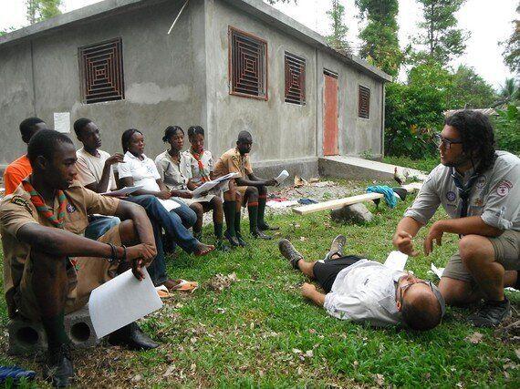 L'action des scouts de Montréal à Haiti depuis 5