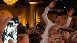 Golden Globes: encore un «photobomb» de Benedict