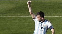 L'Argentine en quarts