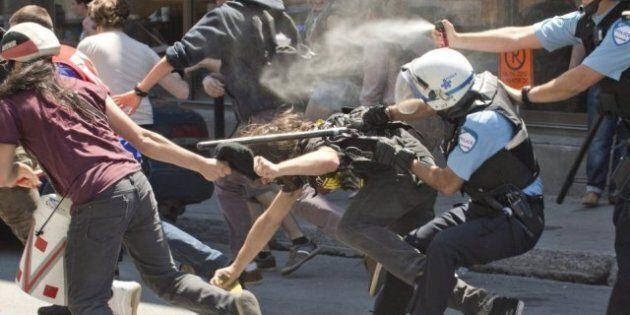 Manifestation contre la brutalité policière 2011: des manifestants sont déboutés en cour à