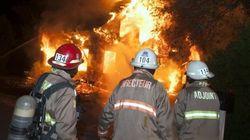 Drummondville: un incendie détruit une maison familiale