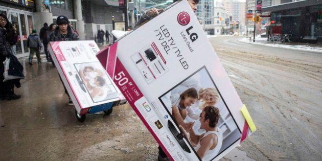 Le «Boxing Day» est nettement moins populaire au Québec qu'ailleurs au