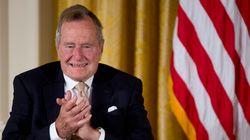 George H. W Bush a passé une seconde nuit à