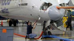 CSeries : redémarrage des moteurs d'un avion