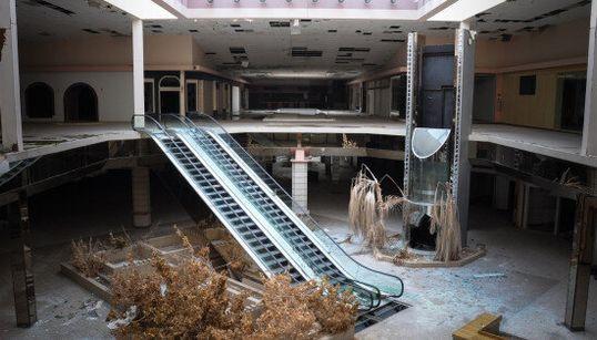 Voyez de sinistres photos de centres commerciaux abandonnés